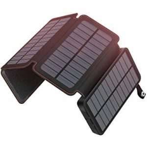 hiluckey portable solar charger