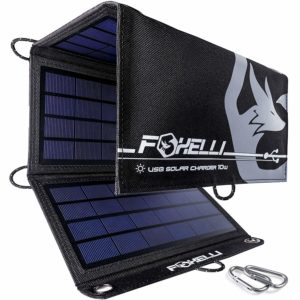 foxelli solar charger