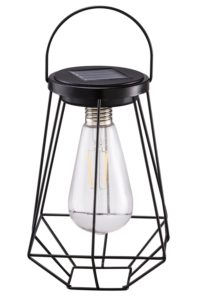 outdoor solar lanterns lamps 2 pack tabletop filament led edison bulbs