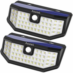 Aootek 3 Mode Outdoor Solar Lights
