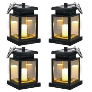 best overall sunklly waterproof led outdoor candle lantern