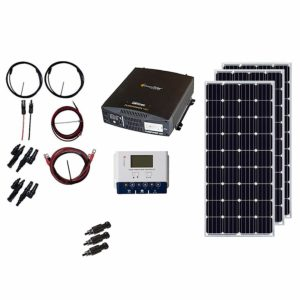 grape solar 540w off grid solar panel kit