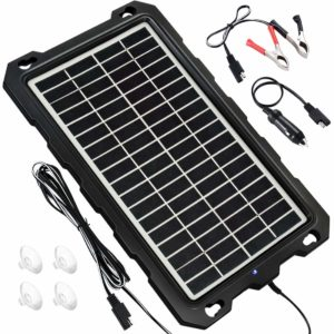 runner up powoxi solar car battery charger