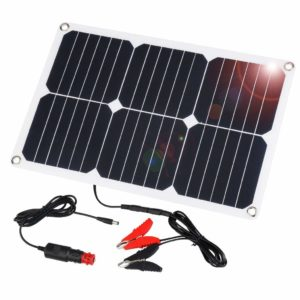 for those that like to experiment suaoki solar car battery charger