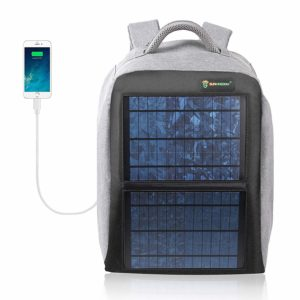 sunkingdom solar power backpack