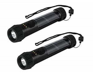 gen rr hybrid solar powered flashlight