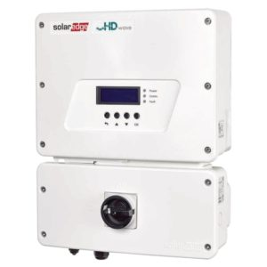 solaredge hd wave grid tied inverter