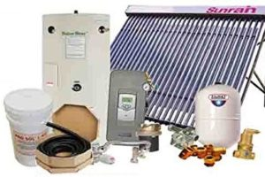 northern lights group swh 1 solar hot water heating package