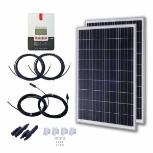 komaes polycrystalline solar panels for rv starter kit