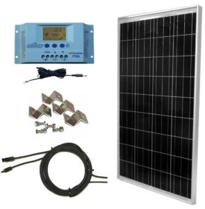 windynation 100 watt solar off grid rv kit