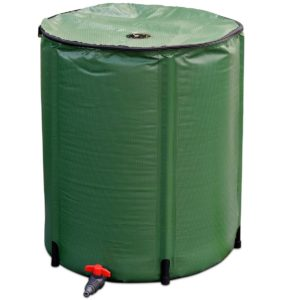 goplus portable collapsible rain barrel